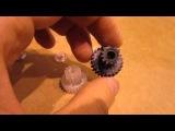 Самодельная шестерня - видео готовой поделки - Как сделать сложную шестерню своими руками