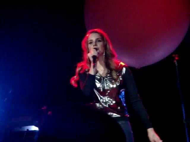 Lana Del Rey Diet Mtn Dew First Live Performance at Mod Club Toronto Canada