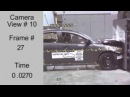 Crash Test 2008 - 20** Mitsubishi Galant Fortis  Lancer  Cedia  Evolution 10 (Full Frontal) NHTSA