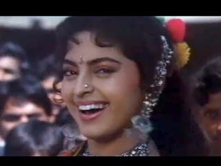 Ladke Ne Ladki Ko Dekha - Juhi Chawla, Johnny Lever - Bhagyawan - Bollywood Peppy Song