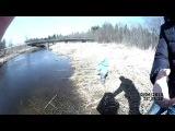 Семейная рыбалка #1 - все довольны... поездка на новую речку