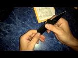 Обзор №10. Credit Card Folding Utility Knife Кредитная карта нож. Aliexpress.