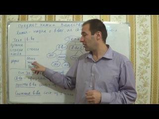 Уроки по химии. §1, 8кл.Предмет химии. Вещества