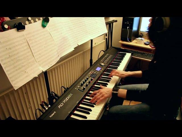 Guns N' Roses - Estranged - piano cover [HD]