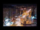 Krasnoyarsk. Siberia. Timelapse &amp Hyperlapse