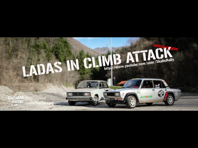 KRELMAN RACING TEAM LADAS IN CLIMB ATTACK