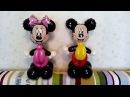 Микки и Минни Маусы из шаров от Mr Радость