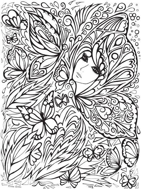 Картинку грибов раскраска