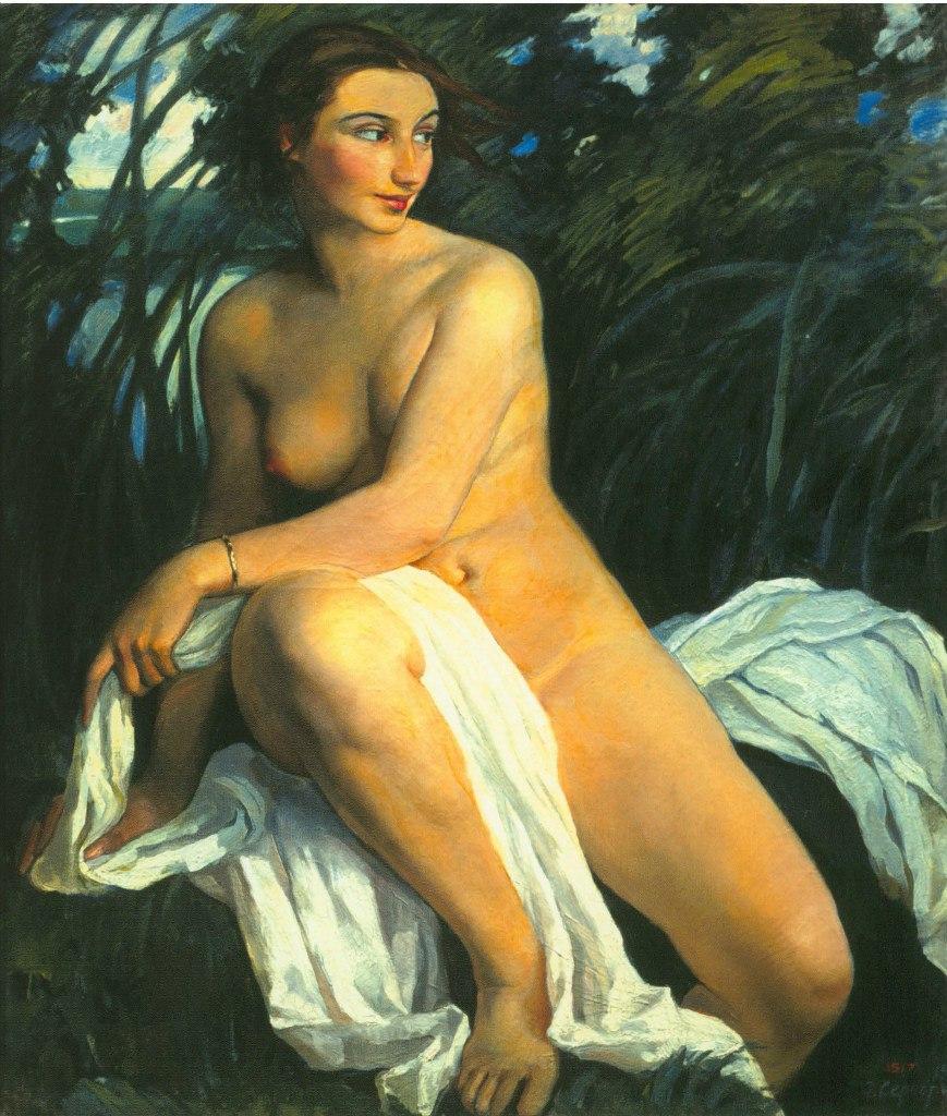 Русская художница Зинаида Серебрякова (1884 - 1967)