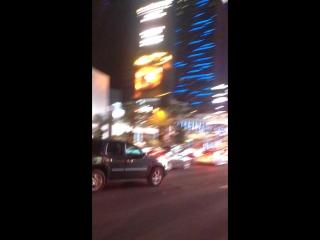 First night in Las Vegas