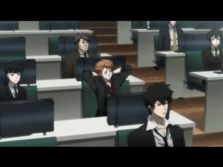 Психопаспорт / Psycho-pass 1 сезон 15 серия