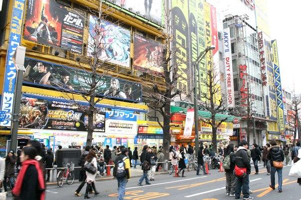 Акихабара Веб камера онлайн