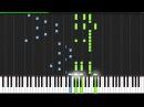 Hero's Come Back!! - Naruto Shippūden [Piano Tutorial] (Synthesia)