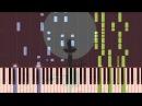 [Naruto Shippuuden OP 14] Tsuki no ookisa Naruto Shippuuden Piano Synthesia Tutorial