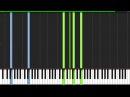 Haruka Kanata - Naruto [Piano Tutorial] (Synthesia)