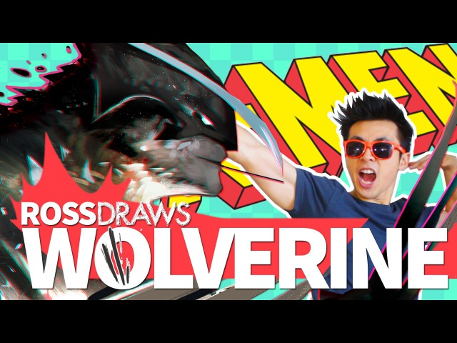 RossDraws WOLVERINE Marvel X Men