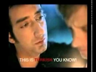 Tuba Buyukustun in an old Colin's Europe Ad