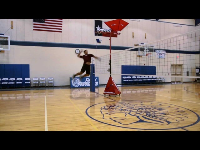 How to Spike a Volleyball in Slow Motion