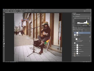Vintage Retro Look mit Photoshop CC (german/deutsch)\\,m