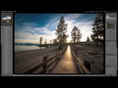 1Retouching a landscape photo with Lightroom.\\41