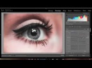 Lightroom 5: Eye Photo Editing tutorial\\дл