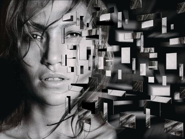 Tutorial Photoshop CC Face Explosion Effect - Best Photoshop Tutorial Photo Effects\\iu