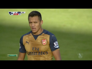 Alexis Sánchez vs Leicester City (Away) 15/16 HD 720p by AS17i
