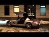 Mercedes SLS AMG REVS, Small Powerslide