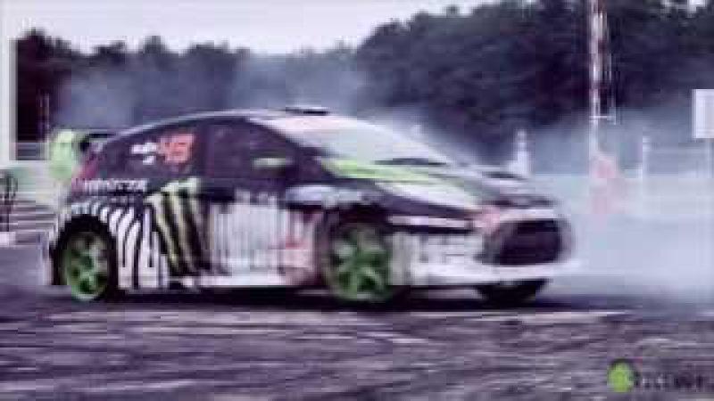 Подборка красивых авто трюков (от Kiwi Video) (HD)