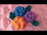 Вязание цветов (цветков) спицами