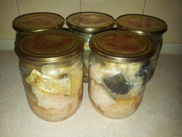 Рыбные консервы в домашних условиях в духовке. Консервы из толстолоба