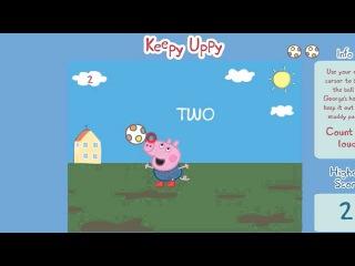 МУЛЬТИК СВИНКА ПЕППА ИГРАЕТ В ФУТБОЛ ИГРА PEPPA PIG PLAY IN FOOTBALL  粉紅豬小妹, 粉红猪小妹