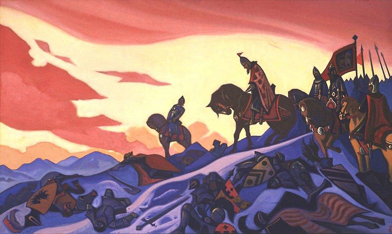 В Москве покажут картины Рерихов из США: philologist