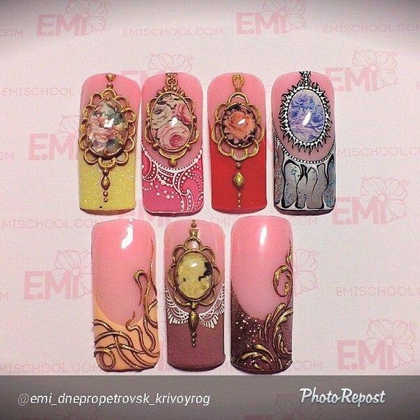 Дизайн ногтей от эми