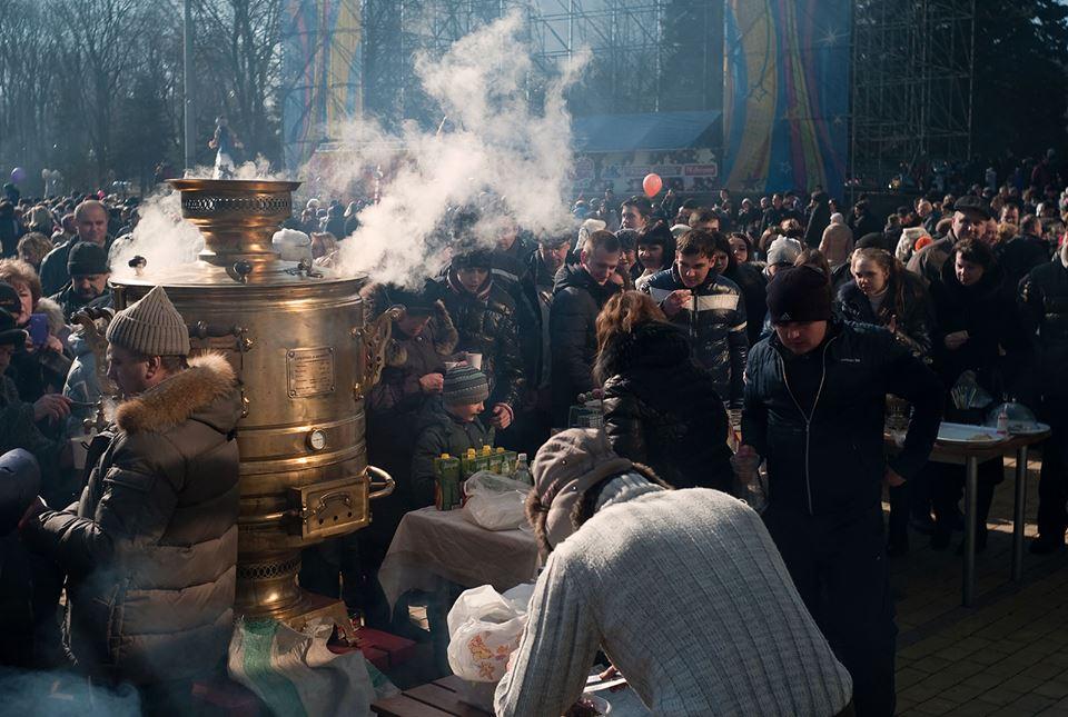 Масленница 2015 в Донецке