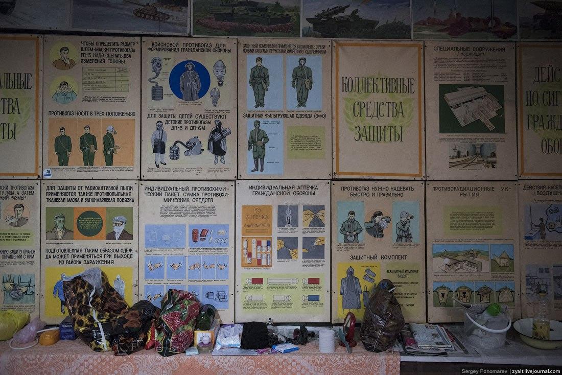 Плакаты в бомбоубежище