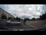 Еще одно страшное предупреждение о необходимости осторожного поведения пешеходов на дороге