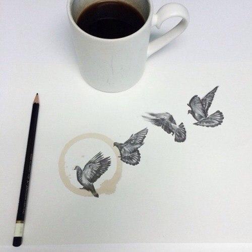 Плями від кави інколи бувають