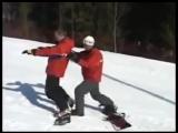 Как кантоваться на сноуборде | Перекантовка задний-передний кант.
