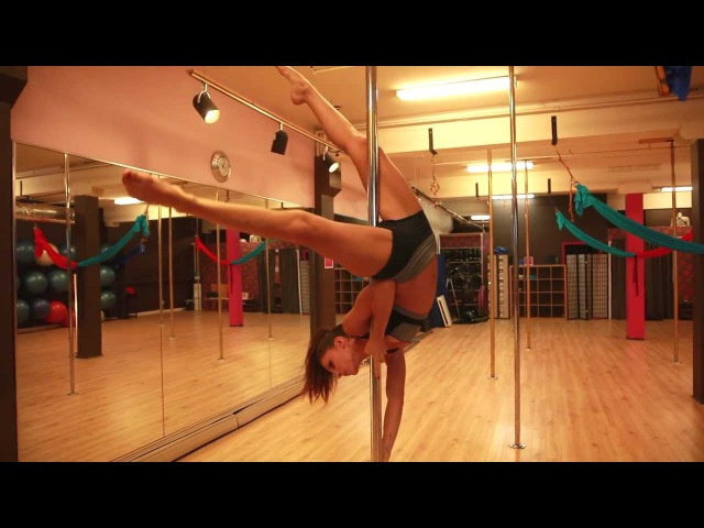FREE Online Pole Lesson: THE JANEIRO with Marion Crampe