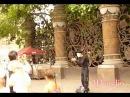 Виртуальная прогулка в центре города. Объемный бинауральный звук. Санкт-Петербург.