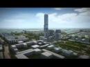 Первое графическое видео небоскреба Абу Даби Плаза, самого высокого небоскреба ...