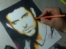 Drawing shading Hrithik Roshan Bollywood actor