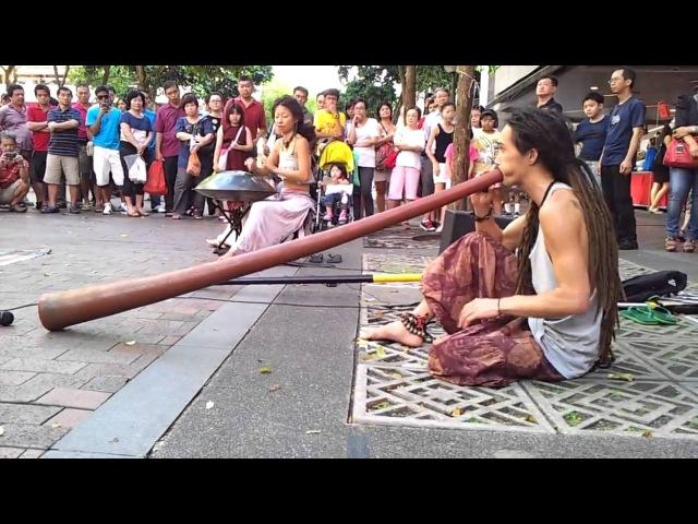 Ханг и диджериду [Hang and Didgeridoo]