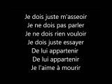 Francis Cabrel - Je l'aime a mourir Lyrics
