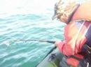 Момент ловли сома 100 кг на Капчагае с рыбацким сленгом