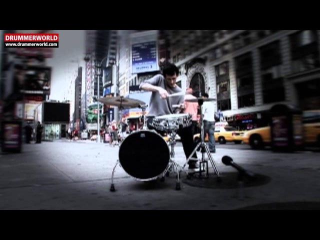 Jojo Mayer: Drum'N' Bass Groove - Slow Motion - Transcription