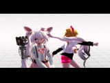 MMD-Call me maybe-Mangle and Toy chica-FNAF 2