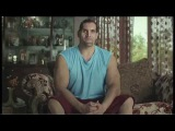 Шикарная индийская реклама цемента - рестлер Великий Кали! WWE champion the Great Khali for Ambuja Cement