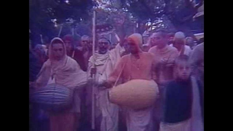 Srila Narayana maharaja Kirtan from Sri Vrndavan 1977